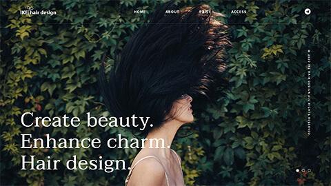IKE hair design